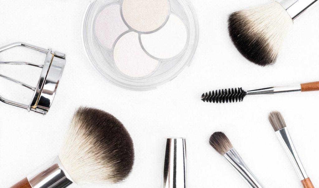 makeup brush, cosmetics, makeup